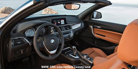BMW 220i convertible Luxury Line auto - Image credit: © 2018 duoporta. Generic Image shown.