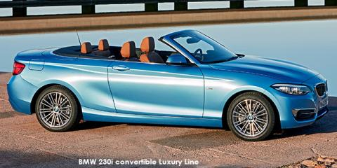 BMW 220i convertible Luxury Line sports-auto - Image credit: © 2018 duoporta. Generic Image shown.