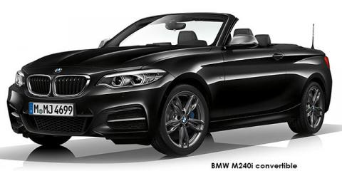 BMW M240i convertible sports-auto - Image credit: © 2019 duoporta. Generic Image shown.