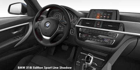 BMW 318i Edition Sport Line Shadow auto - Image credit: © 2018 duoporta. Generic Image shown.