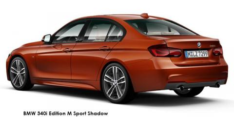 BMW 330i Edition M Sport Shadow auto - Image credit: © 2018 duoporta. Generic Image shown.