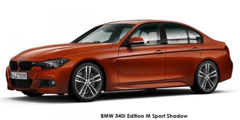 BMW 330d Edition M Sport Shadow auto - Image credit: © 2018 duoporta. Generic Image shown.
