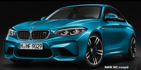 BMW M2 coupe - Image credit: © 2018 duoporta. Generic Image shown.