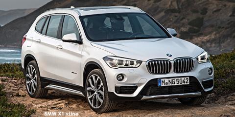 BMW X1 sDrive20i auto - Image credit: © 2018 duoporta. Generic Image shown.