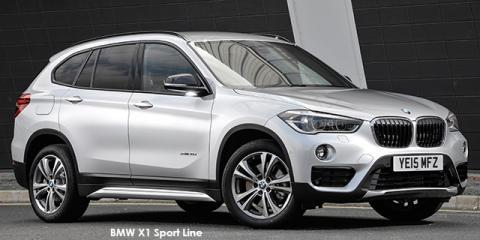 BMW X1 sDrive20i Sport Line auto - Image credit: © 2018 duoporta. Generic Image shown.