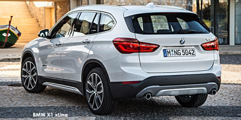 BMW X1 xDrive20i auto - Image credit: © 2018 duoporta. Generic Image shown.