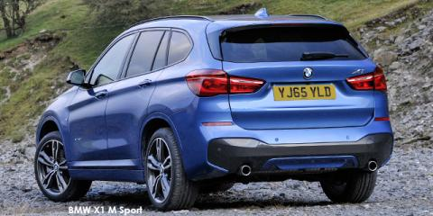 BMW X1 xDrive20i M Sport auto - Image credit: © 2018 duoporta. Generic Image shown.