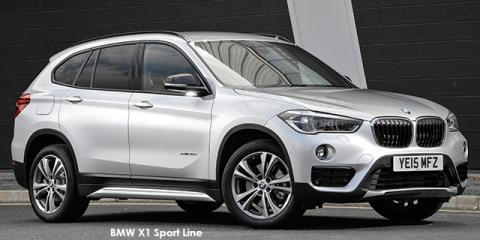 BMW X1 xDrive25i Sport Line sports-auto - Image credit: © 2018 duoporta. Generic Image shown.