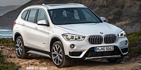 BMW X1 xDrive25i xLine sports-auto - Image credit: © 2018 duoporta. Generic Image shown.
