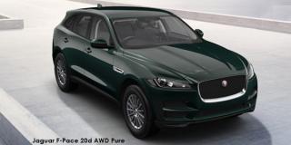 Jaguar F-Pace - Image credit: © 2018 duoporta. Generic Image shown.