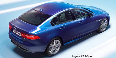 Jaguar XE 30t R-Sport - Image credit: © 2018 duoporta. Generic Image shown.