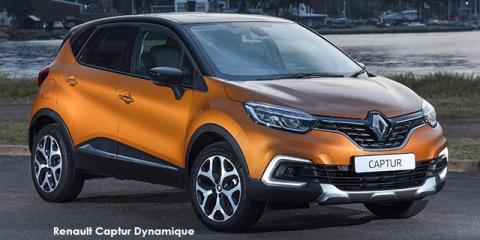 Renault Captur 88kW turbo Dynamique auto - Image credit: © 2019 duoporta. Generic Image shown.