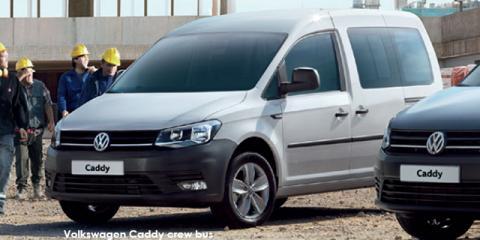 Volkswagen Caddy 1.6 crew bus - Image credit: © 2018 duoporta. Generic Image shown.