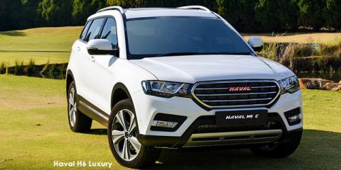 Haval H6 2.0T Luxury auto - Image credit: © 2018 duoporta. Generic Image shown.