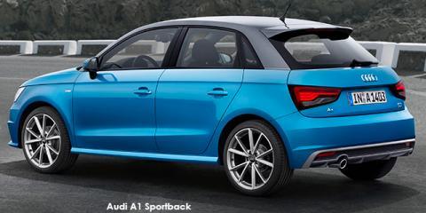 Audi A1 Sportback 1.0TFSI S - Image credit: © 2018 duoporta. Generic Image shown.