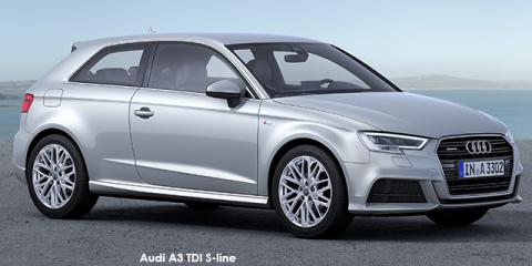 Audi A3 3-door 1.0TFSI S line auto