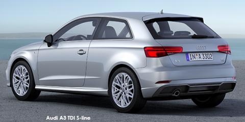 Audi A3 3-door 1.4TFSI S line auto - Image credit: © 2018 duoporta. Generic Image shown.