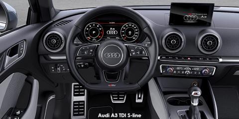 Audi A3 3-door 2.0TDI - Image credit: © 2018 duoporta. Generic Image shown.