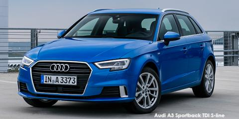 Audi A3 Sportback 1.0TFSI S line auto - Image credit: © 2018 duoporta. Generic Image shown.