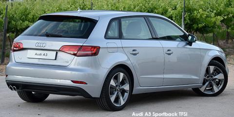 Audi A3 Sportback 2.0TFSI auto - Image credit: © 2018 duoporta. Generic Image shown.