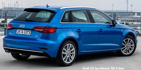 Audi A3 Sportback 2.0TDI S line - Image credit: © 2018 duoporta. Generic Image shown.