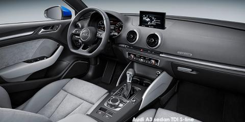Audi A3 sedan 2.0TFSI S line auto - Image credit: © 2018 duoporta. Generic Image shown.