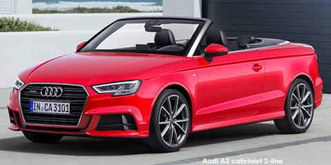 Audi A3 cabriolet 2.0TFSI - Image credit: © 2018 duoporta. Generic Image shown.