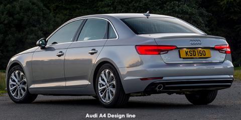 Audi A4 1.4TFSI - Image credit: © 2018 duoporta. Generic Image shown.