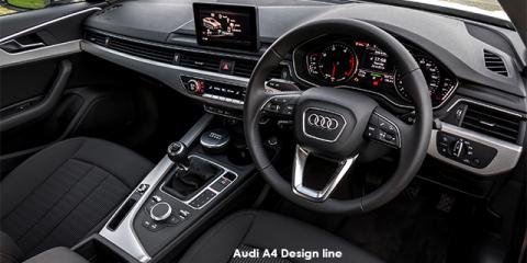 Audi A4 2.0TFSI - Image credit: © 2018 duoporta. Generic Image shown.