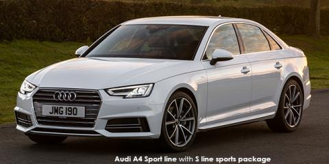 Audi A4 2.0TFSI sport - Image credit: © 2018 duoporta. Generic Image shown.