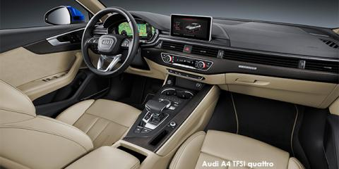 Audi A4 2.0TFSI quattro sport - Image credit: © 2018 duoporta. Generic Image shown.