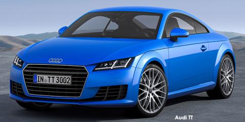 Audi TT coupe 1.8TFSI - Image credit: © 2018 duoporta. Generic Image shown.