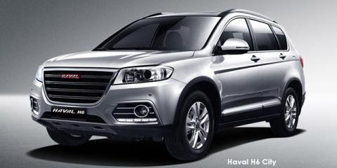 Haval H6 1.5T City - Image credit: © 2018 duoporta. Generic Image shown.
