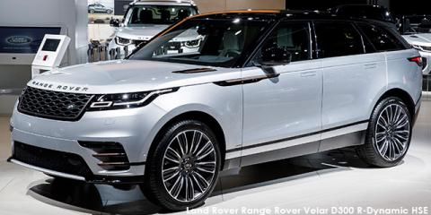 Land Rover Range Rover Velar D300 R-Dynamic HSE - Image credit: © 2018 duoporta. Generic Image shown.