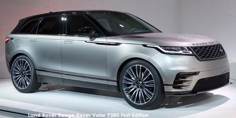 Land Rover Range Rover Velar D300 R-Dynamic HSE First Edition - Image credit: © 2018 duoporta. Generic Image shown.