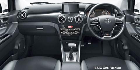 BAIC X25 1.5 Comfort - Image credit: © 2019 duoporta. Generic Image shown.