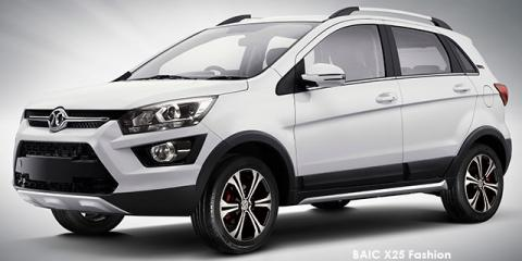 BAIC X25 1.5 Fashion auto - Image credit: © 2018 duoporta. Generic Image shown.