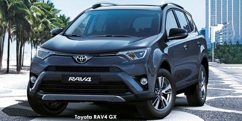 Toyota RAV4 2.0 GX auto - Image credit: © 2018 duoporta. Generic Image shown.