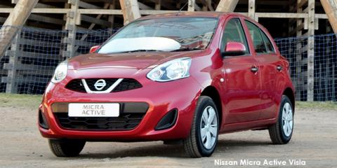 New Nissan Micra Active 1.2 Visia up to R 13,500 discount | New Car ...
