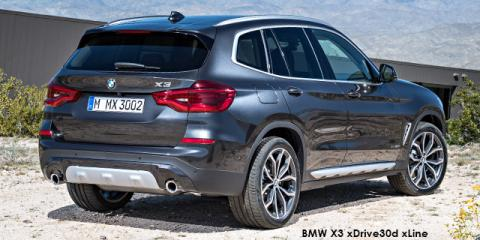 BMW X3 xDrive30i auto - Image credit: © 2018 duoporta. Generic Image shown.