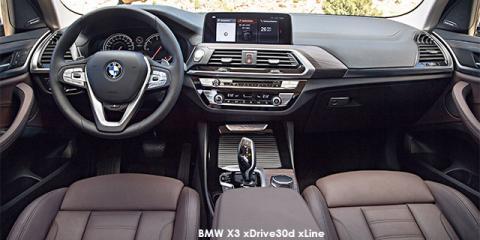 BMW X3 xDrive30i sports-auto - Image credit: © 2018 duoporta. Generic Image shown.