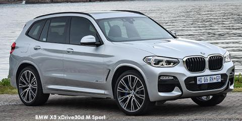 BMW X3 xDrive30i M Sport auto - Image credit: © 2018 duoporta. Generic Image shown.