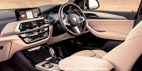 BMW X3 xDrive30i M Sport sports-auto - Image credit: © 2018 duoporta. Generic Image shown.