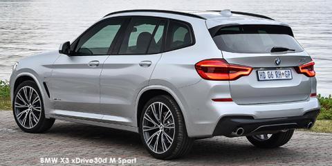 BMW X3 xDrive30d M Sport auto - Image credit: © 2018 duoporta. Generic Image shown.