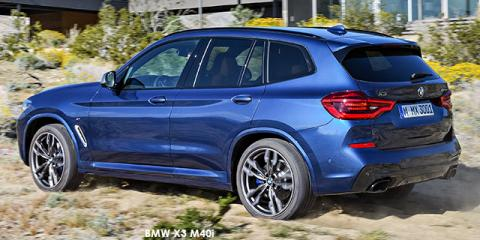 BMW X3 M40i sports-auto - Image credit: © 2018 duoporta. Generic Image shown.
