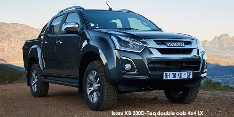 Isuzu KB 300D-Teq double cab 4x4 LX - Image credit: © 2018 duoporta. Generic Image shown.