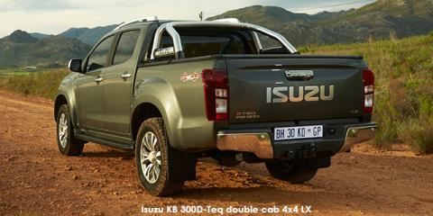 Isuzu KB 300D-Teq double cab 4x4 LX auto - Image credit: © 2018 duoporta. Generic Image shown.