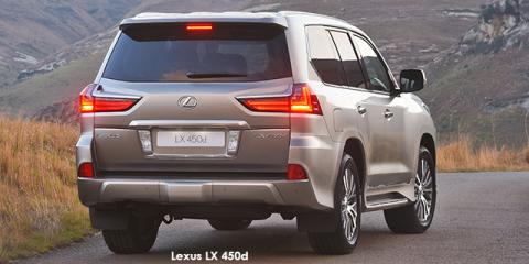 Lexus LX 450d - Image credit: © 2018 duoporta. Generic Image shown.