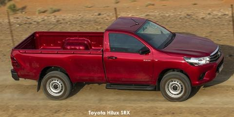 Toyota Hilux 2.4GD-6 4x4 SRX auto - Image credit: © 2018 duoporta. Generic Image shown.