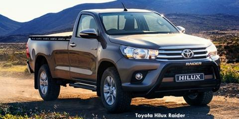 Toyota Hilux 2.8GD-6 Raider auto - Image credit: © 2018 duoporta. Generic Image shown.
